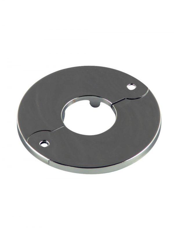1/2 in. IPS Floor & Ceiling Plate for Ice Maker in Chrome