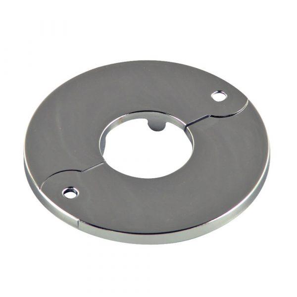 1 in. IPS Floor & Ceiling Plate for Ice Maker in Chrome