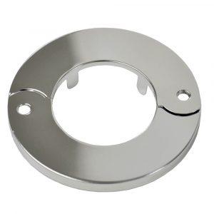 1-1/2 in. IPS Floor & Ceiling Plate for Ice Maker in Chrome