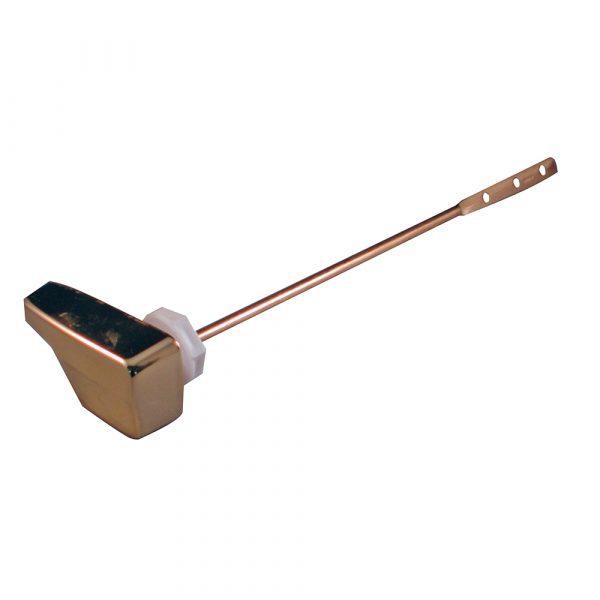 9-1/4 in. Sidemount Toilet Handle for Eljer in Polished Brass