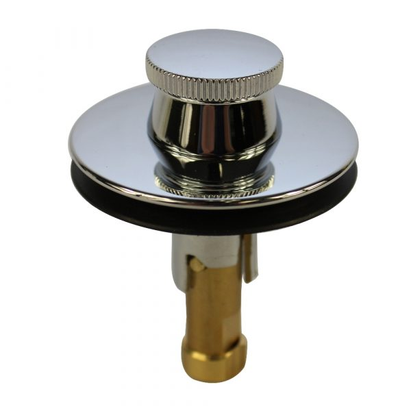 Lift and Turn Drain Stopper in Chrome
