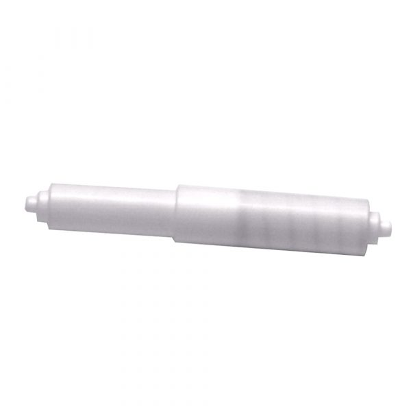 Toilet Paper Holder Rod in White
