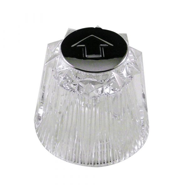 Small Windsor Style Diverter Handle for Price Pfister in Clear Acrylic