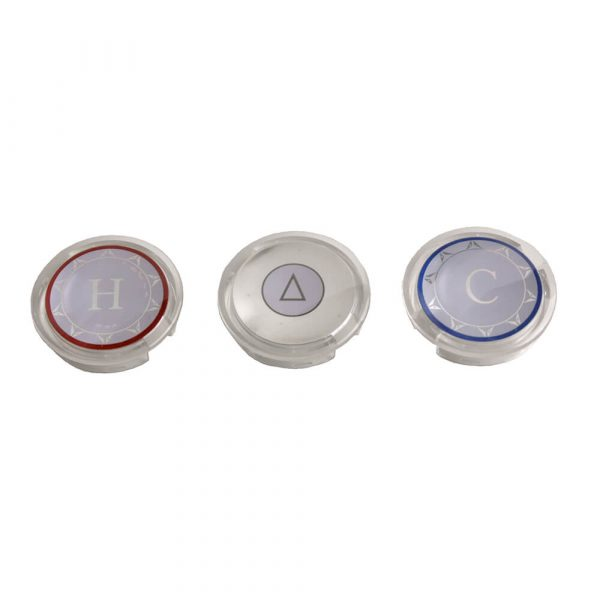 Single Handle Index Button for Moen Faucets