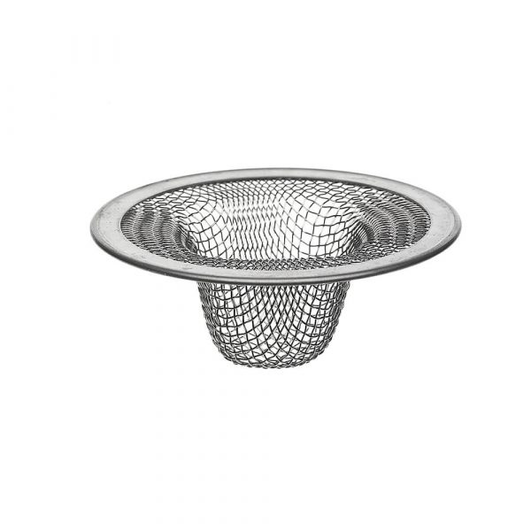 2-1/2 in. Lavatory Mesh Sink Strainer in Stainless Steel