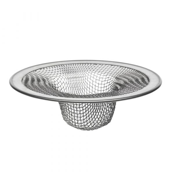 2-3/4 in. Tub Mesh Strainer in Stainless Steel