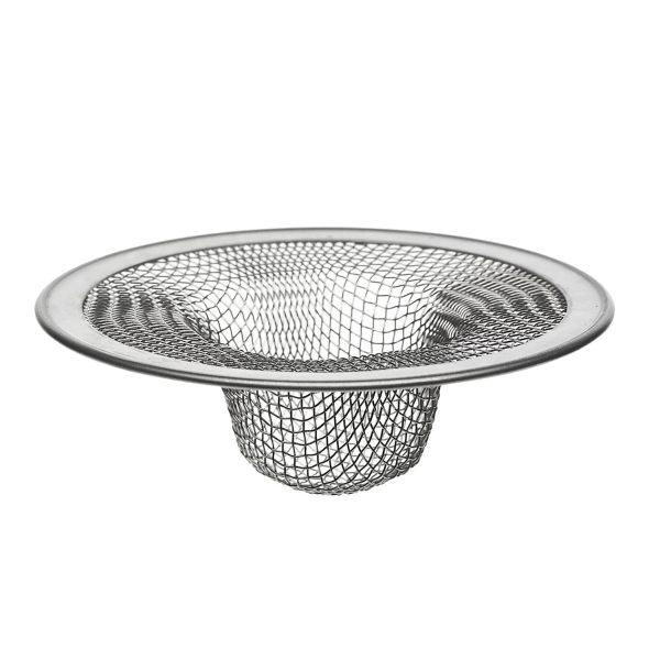 4-1/2 in. Kitchen Mesh Sink Strainer in Stainless Steel