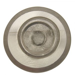Mesh Kitchen, Lavatory and Utility Sink Strainer in Stainless Steel-Value Pack
