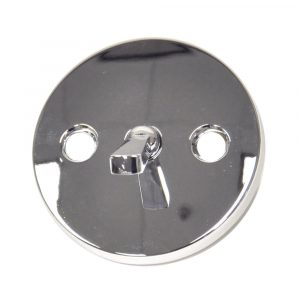 Overflow Plate in Chrome for Price Pfister Faucets