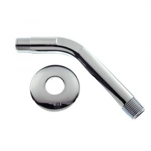6 in. Shower Arm w/ Flange in Chrome