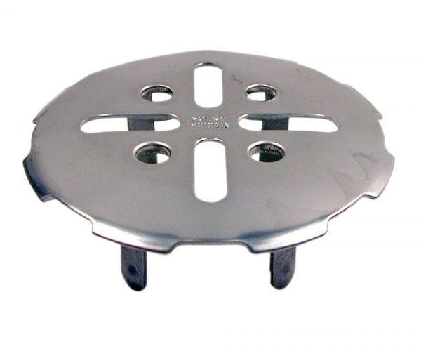 2 in. Snap-In Drain Strainer in Stainless Steel