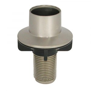 Universal Kitchen Spray Hose Guide in Brushed Nickel