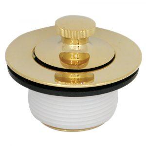 Twist 'N Close PVD Trim Kit in Polished Brass