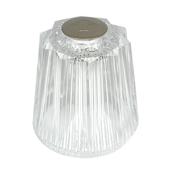 Large Windsor Style Handle for Price Pfister in Clear Acrylic