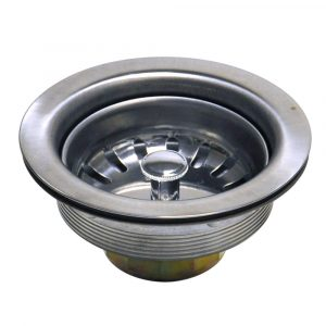 3-1/2 in. Basket Strainer Assembly in Stainless Steel