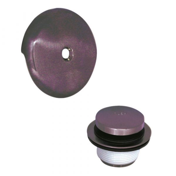 Touch-Toe Tub Drain Trim Kit with Overflow in Oil Rubbed Bronze