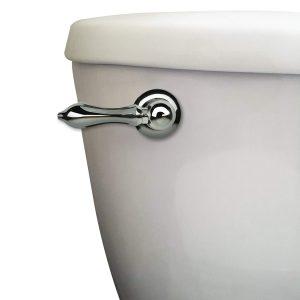 Universal Decorative Toilet Handle in Chrome