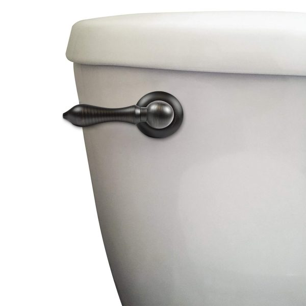 Universal Decorative Toilet Handle in Oil Rubbed Bronze