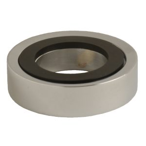 3 in. Decorative Vessel Sink Mounting Ring in Chrome