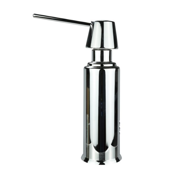 Air Gap Soap Dispenser with Straight Nozzle in Chrome