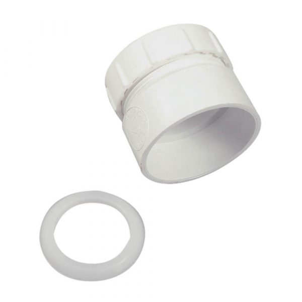 1-1/2 in. Trap Adapter in White