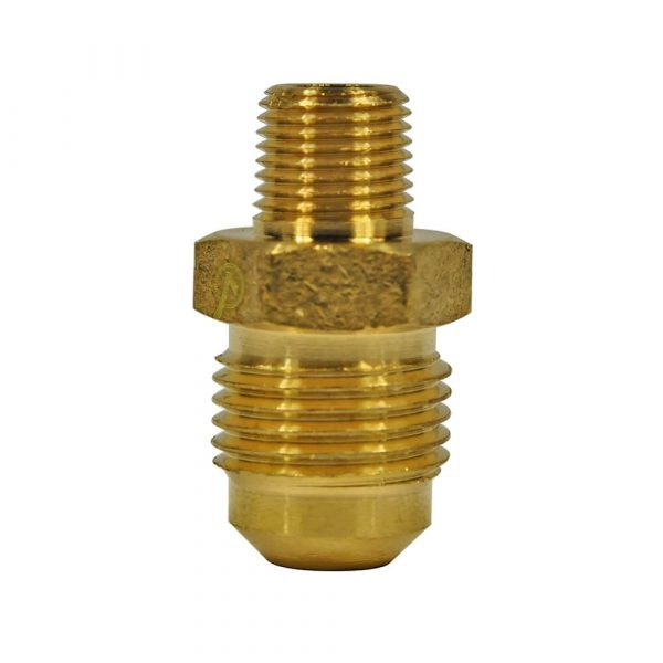 3/8 O.D. Flare X 1/8 MIP Pipe Adapter