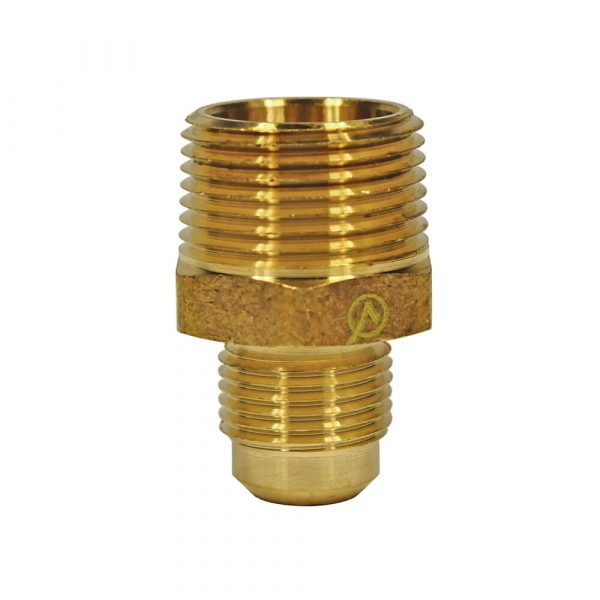 1/2 O.D. Flare X 3/4 MIP Pipe Adapter