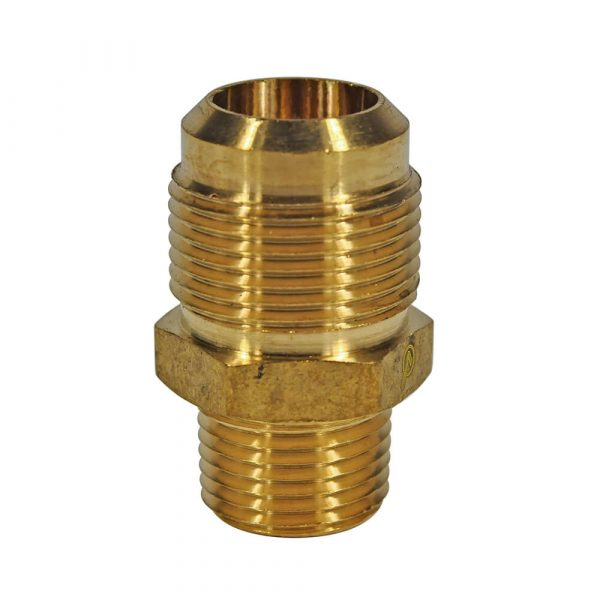 3/4 O.D. Flare X 1/2 MIP Pipe Adapter
