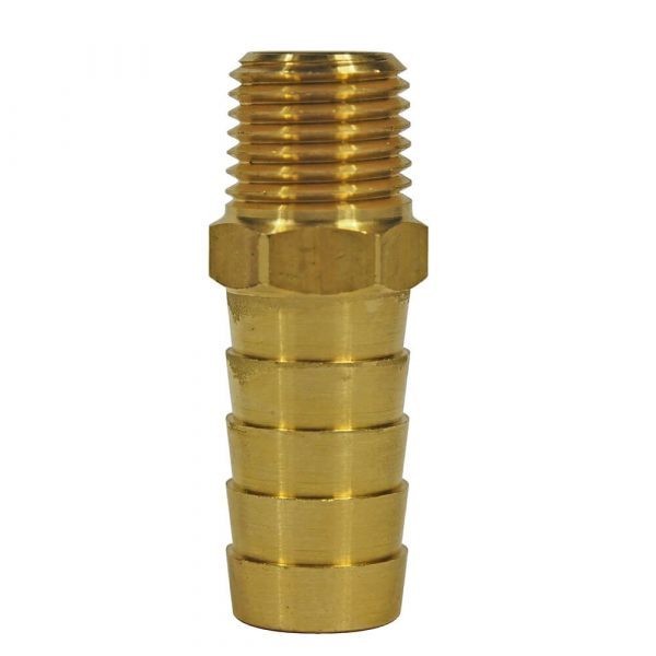 1/2 in. I.D Hose Barb x 1/4 in. MIP Adapter