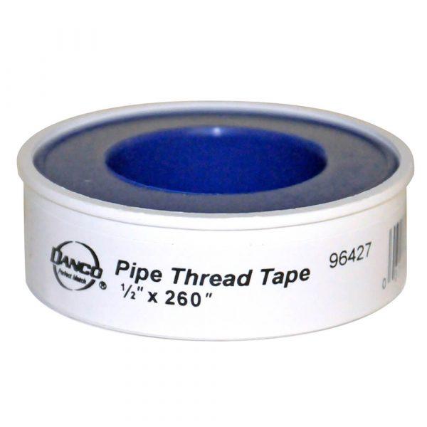 """1/2 in.  X 260"""" in. Pipe Thread Tape (24 per Carton)"""