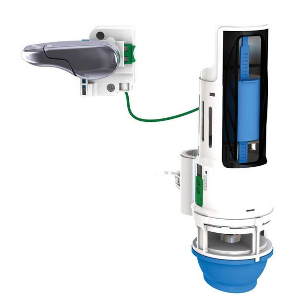 HYR271T HydroRight® Dual Flush Valve and Lever Handle