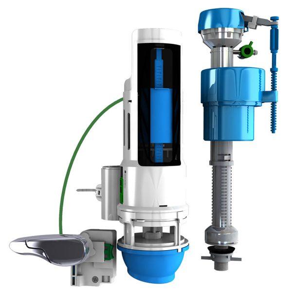 HYR451T Water-Saving Toilet Total Repair Kit with Dual Flush Valve