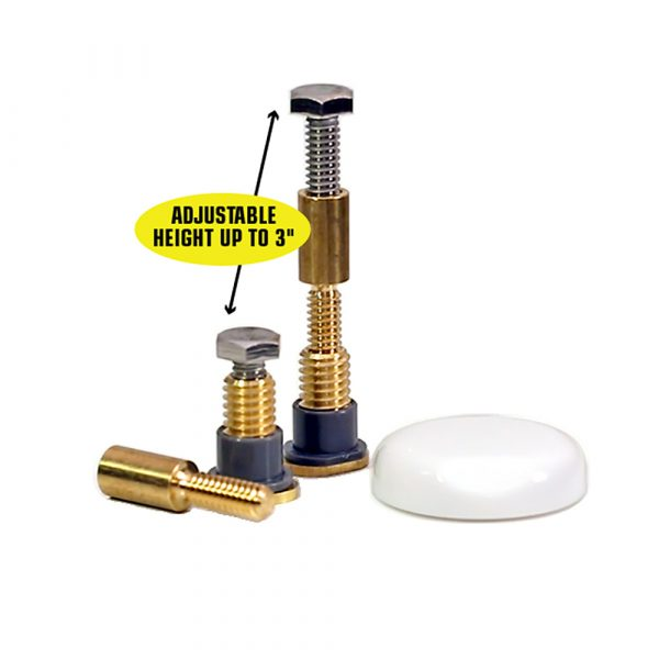 Zero Cut Bolts™ Toilet Mounting Bolts 2-Pack
