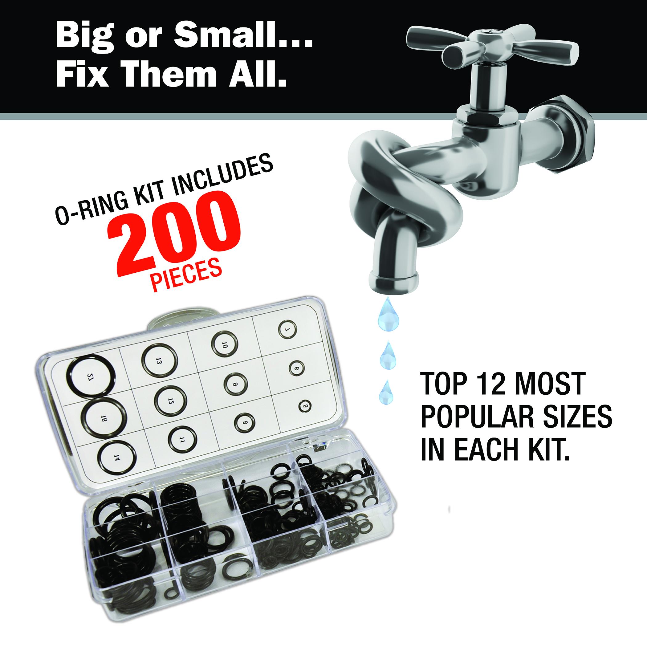 200-Piece O-Ring Kit