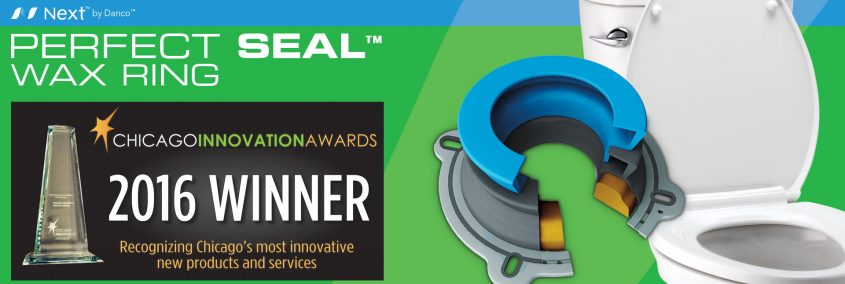 Danco™ Perfect Seal™ Toilet Wax Ring Wins Chicago Innovation Award