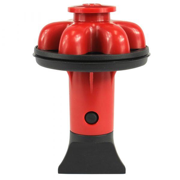 Disposal Genie II Garbage Disposal Strainer & Stopper in Red