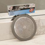 5-3/4 in. Shower Strainer in Brushed Nickel
