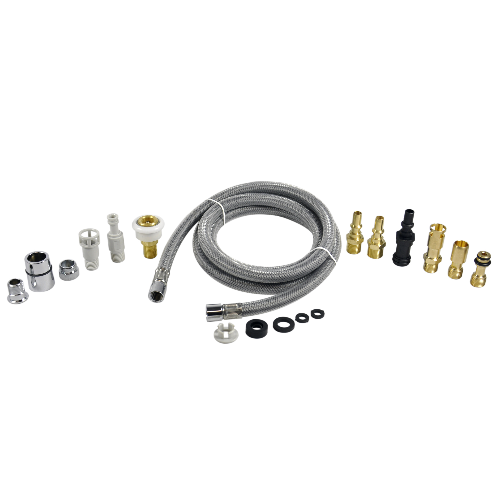 Kitchen Faucet Pull Out Spray Hose Replacement Kit For Pullout Sprayer Heads Plumbing Parts By Danco