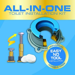 """Press Release: Next by Danco Product """"All-In-One Toilet Installation Kit"""""""