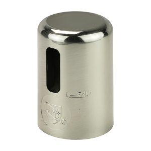 Kitchen Air Gap Cap in Stainless Steel