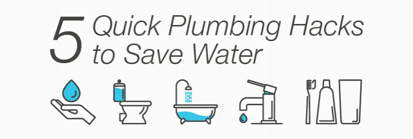 Save Water (And Money!) With These 5 Simple Plumbing Hacks