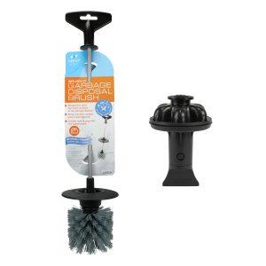 Brush. It Garbage Disposal Cleaning Brush & Disposal Genie II - Black Combo