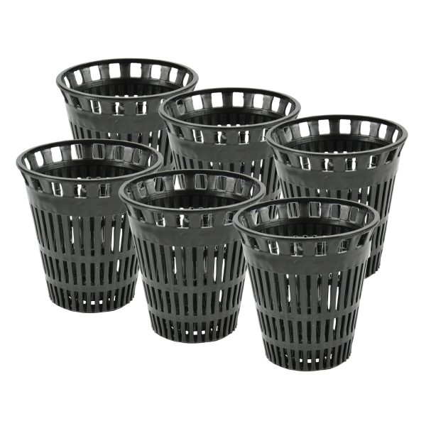 Hair Catcher Replacement Baskets for Shower (6-Pack)
