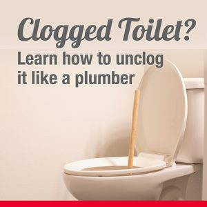 Clogged Toilet? Learn How to Unclog it Like a Plumber