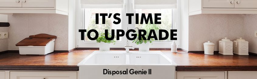 Press Release: Danco's Garbage Disposal Strainer and Stopper Disposal Genie II has a new sleek and modern design