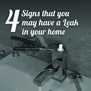 4 Signs That You May Have A Leak in Your Home