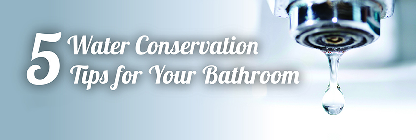 5 Water Conservation Tips For Your Bathroom