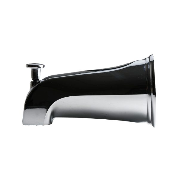 Diverter Tub Spout for Delta fits 1/2 in. IPS and 1 in. Delta Brass Tub Spout Adapter in Chrome