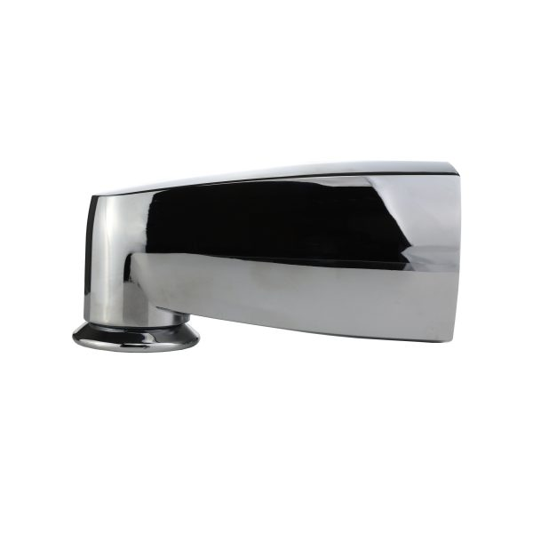 Pull-Down Diverter Tub Spout for Delta fits 1/2 in. IPS and 1 in. Delta Brass Tub Spout Adapter in Chrome