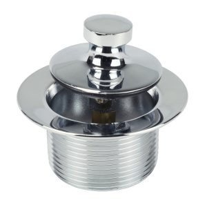 1-7/8 in. Twist N' Close Tub Stopper for Gerber in Chrome